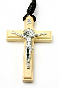 7020-3 St Benedict Crucifix on Cord