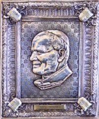 John Paul || Silver Plated Icon