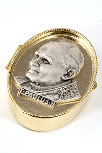 John Paul II Rosary/Pill Box