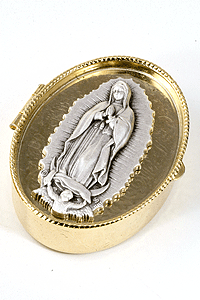O.L.Guadalupe Rosary/Pill Box